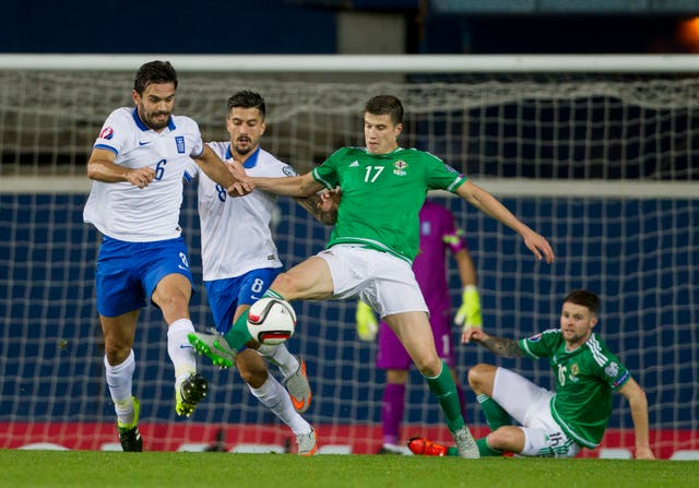 Soccer – UEFA European Championship Qualifying – Group F – Northern Ireland v Greece – Windsor Park