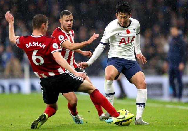 Tottenham Hotspur v Sheffield United – Premier League – Tottenham Hotspur Stadium