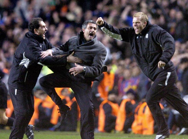 Jose Mourinho's Chelsea knocked out mighty Barcelona in 2005