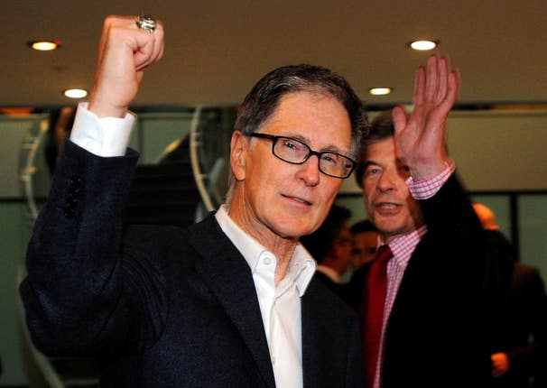 John W Henry, principal owner of New England Sports Ventures, completed a £300million purchase of Liverpool