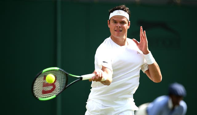 Milos Raonic, currently ranked 25 in the world