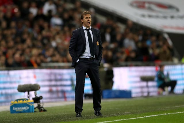 Julen Lopetegui was sacked by both Spain and Real Madrid in the space of four months