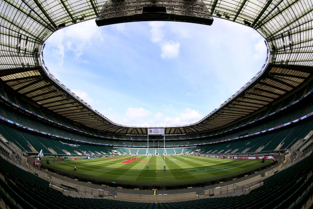 The match is to be played behind closed doors at Twickenham