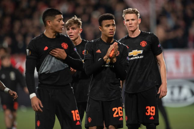 United have taken four points from their two Europa League group games