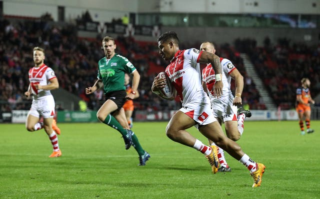 Ben Barba has starred as St Helens clinched the League Leaders' Shield