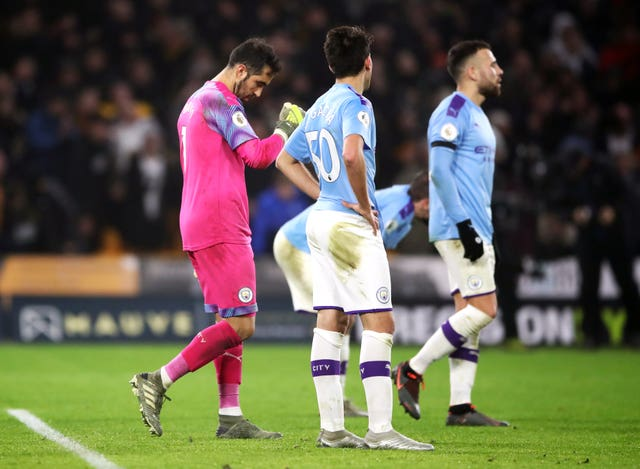 Manchester City needed to bounce back following their defeat to Wolves