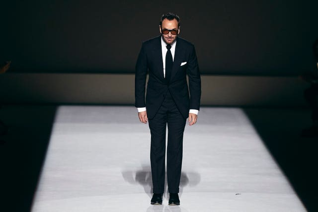 NY Fashion Week TOM FORD