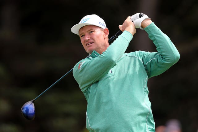 Ernie Els captains the international team