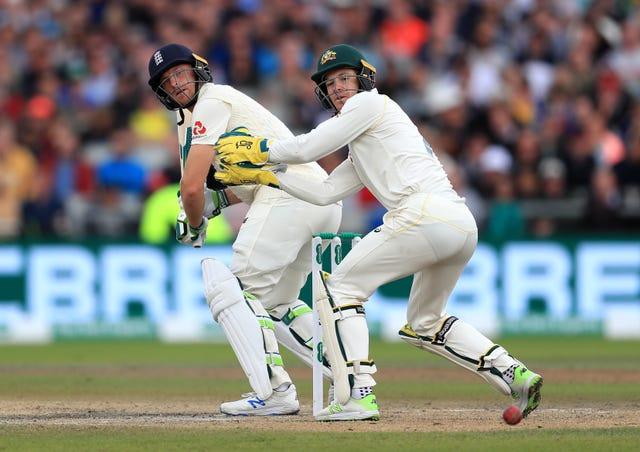 England's Jos Buttler scored 41 on Saturday
