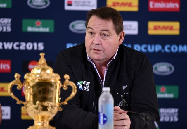 Steve Hansen guided New Zealand to the 2015 World Cup title