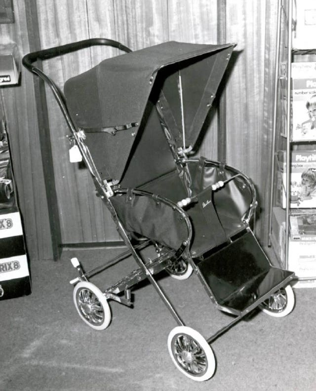 A pram identical to the one owned by Renee MacRae which was never recovered