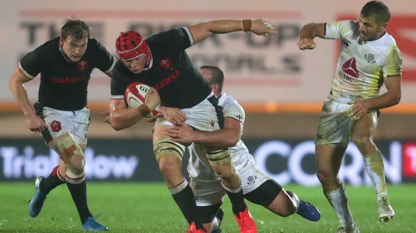 Wales see off Georgia to give under-fire head coach Wayne Pivac welcome win