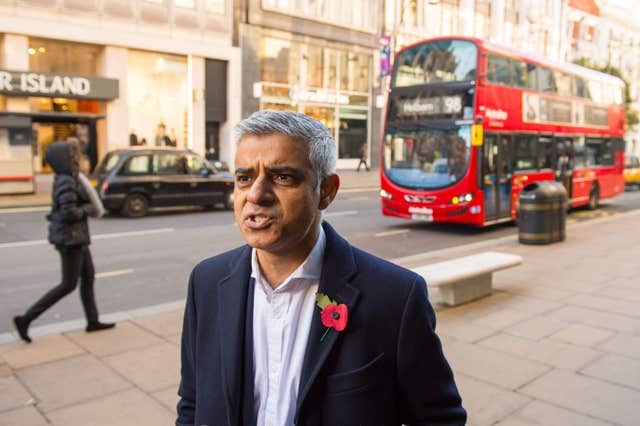 Sadiq Khan wants to keep Worboys in jail (Dominic Lipinski/PA)