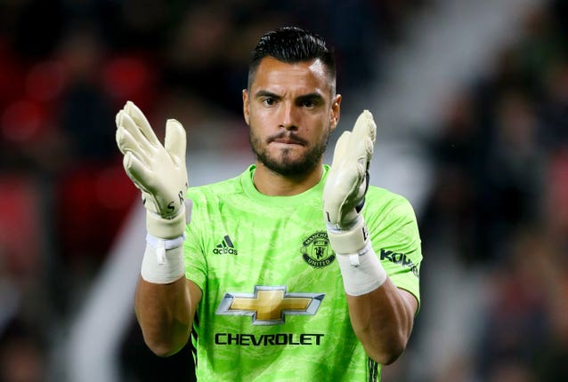 Sergio Romero was an eye-catching omission from Manchester United's squads
