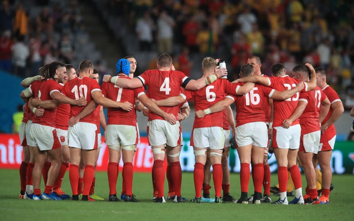 Wales are in a commanding position after beating Australia