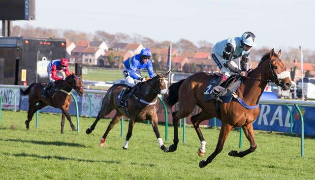 Sebastopol (right) is heading for the Greatwood Hurdle