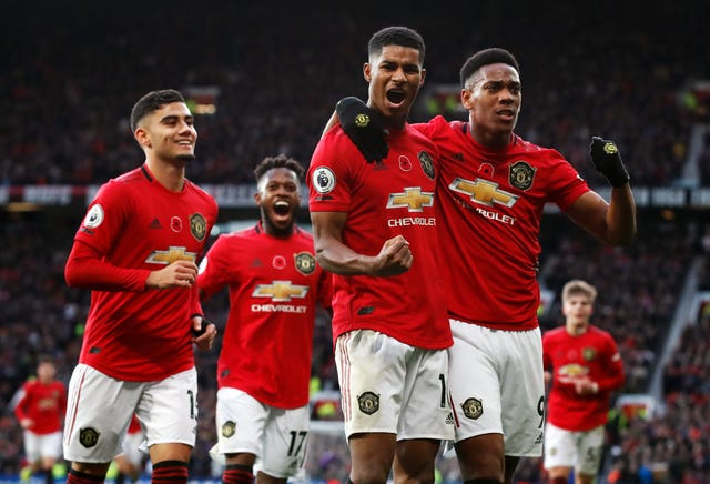 Manchester United beat Brighton to claim their fourth Premier League win of the season