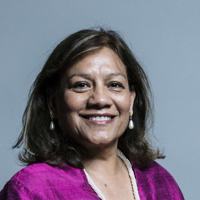 Valerie Vaz (Chris McAndrew/UK Parliament/PA)