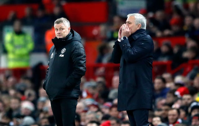 Jose Mourinho suffered his first defeat as Tottenham coach at the hands of Manchester United in midweek