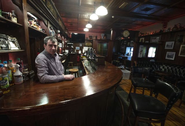 Bar owner Noel McNally