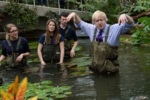 Boris visit to Kew