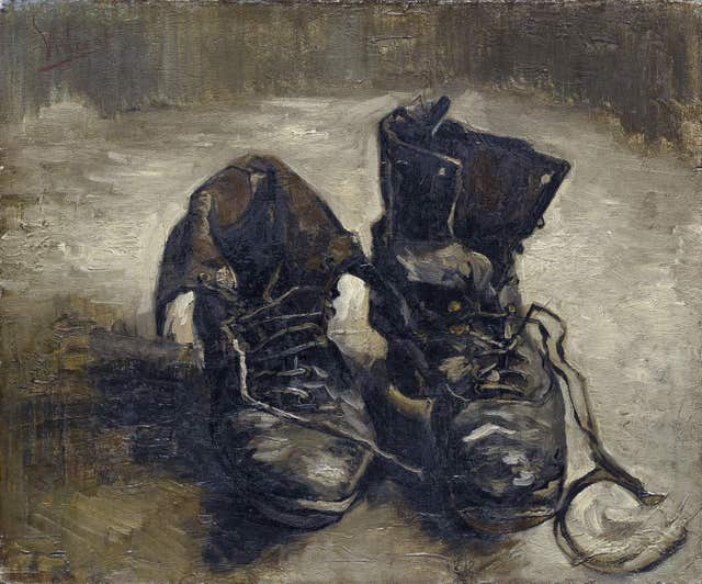 Shoes by Van Gogh