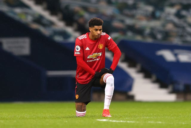 Manchester United's Marcus Rashford is among those to have called on social media companies to tackle online abuse