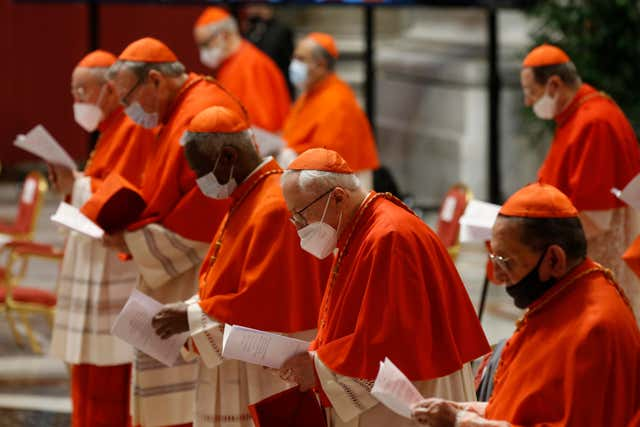 Vatican Pope Consistory