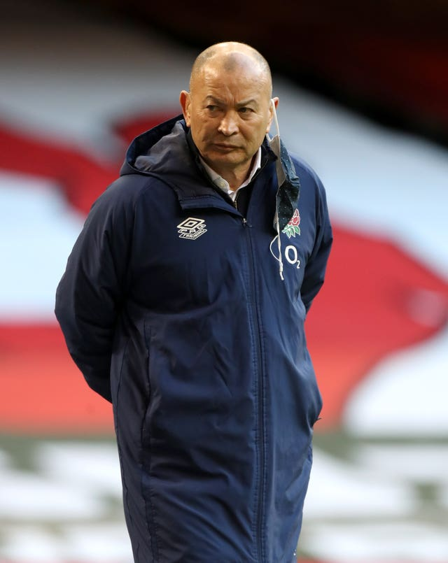 None of Eddie Jones' coaching team have been recruited by the Lions