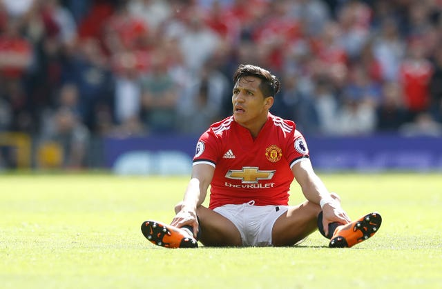 Alexis Sanchez has struggled to hit the heights many expected he would do when he moved to Manchester United (Martin Rickett/PA)