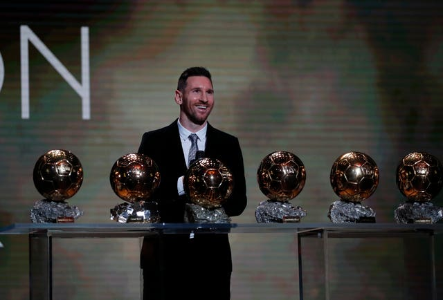 Lionel Messi has won the Ballon d'Or a record six times