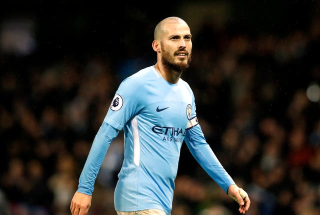 David Silva shone on his return to the City side (Martin Rickett/PA)
