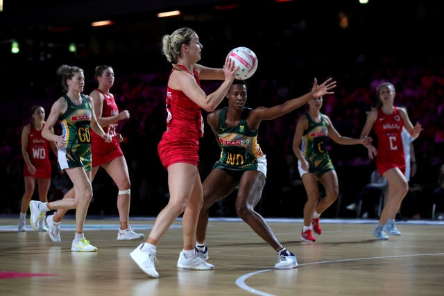 England Vitality Roses v South Africa – Vitality Netball Nations Cup – The Copper Box