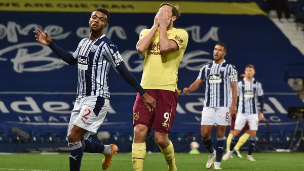 West Brom and Burnley battle out first goalless draw of Premier League season