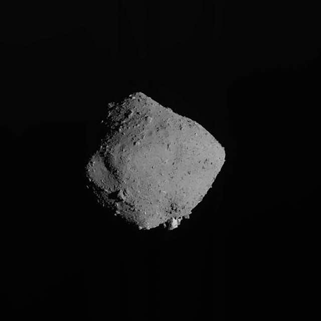 The asteroid Ryugu