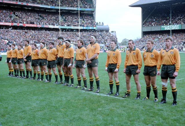 Australia triumphed at Twickenham in the 1991 final