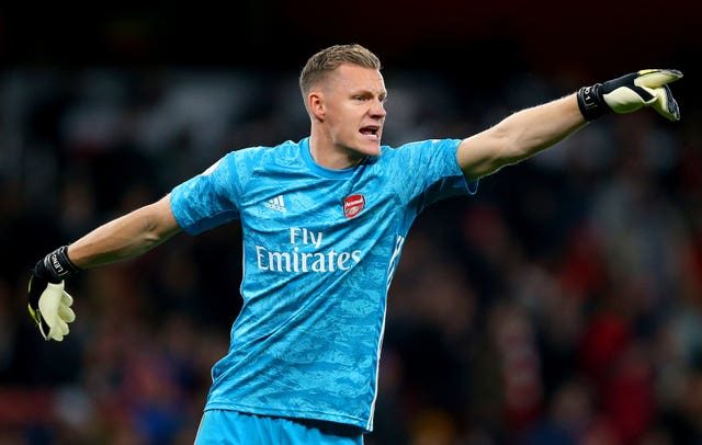 Bernd Leno said Arsenal were short on confidence in the first half