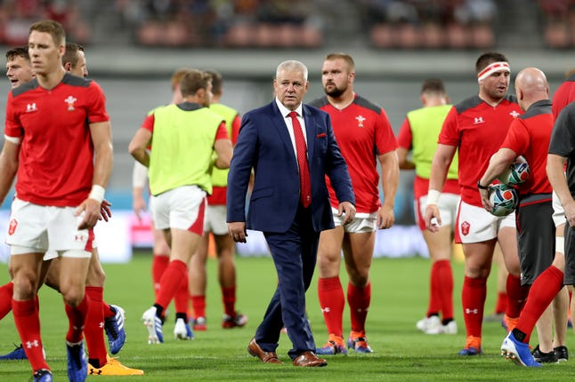 Warren Gatland said his players were briefed before the World Cup