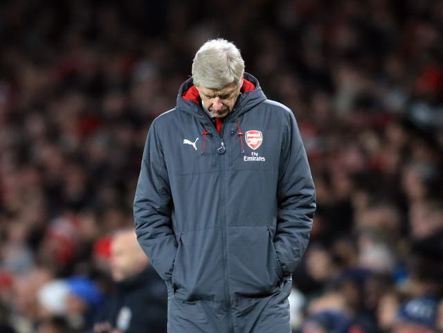 Arsenal went through a similarly poor run last season leading for a clamour for Wenger to leave