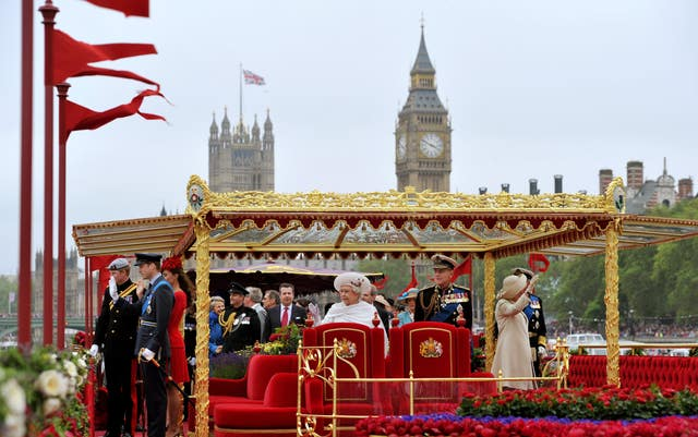 Diamond Jubilee celebrations - Thames Pageant