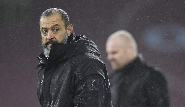 Nuno accepted a charge of improper conduct following his comments at Burnley