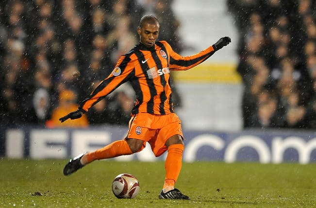 City's Fernandinho spent eight years with Shakhtar
