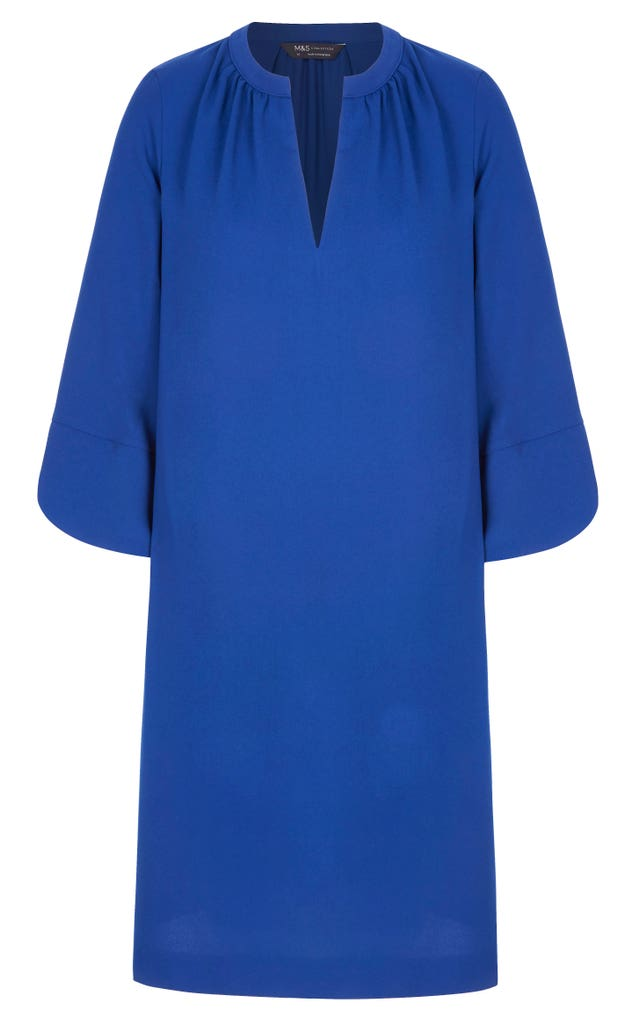 blue dress from the Smart Works capsule collection
