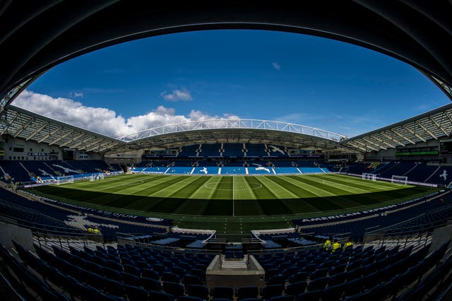 Brighton are insistent that they want to play their remaining home games at the Amex Stadium