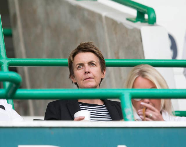 Hibs chief executive Leeann Dempster has vowed to take any steps necessary to stamp out trouble at Easter Road