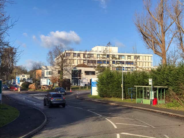 St Peter's Hospital near Chertsey, Surrey