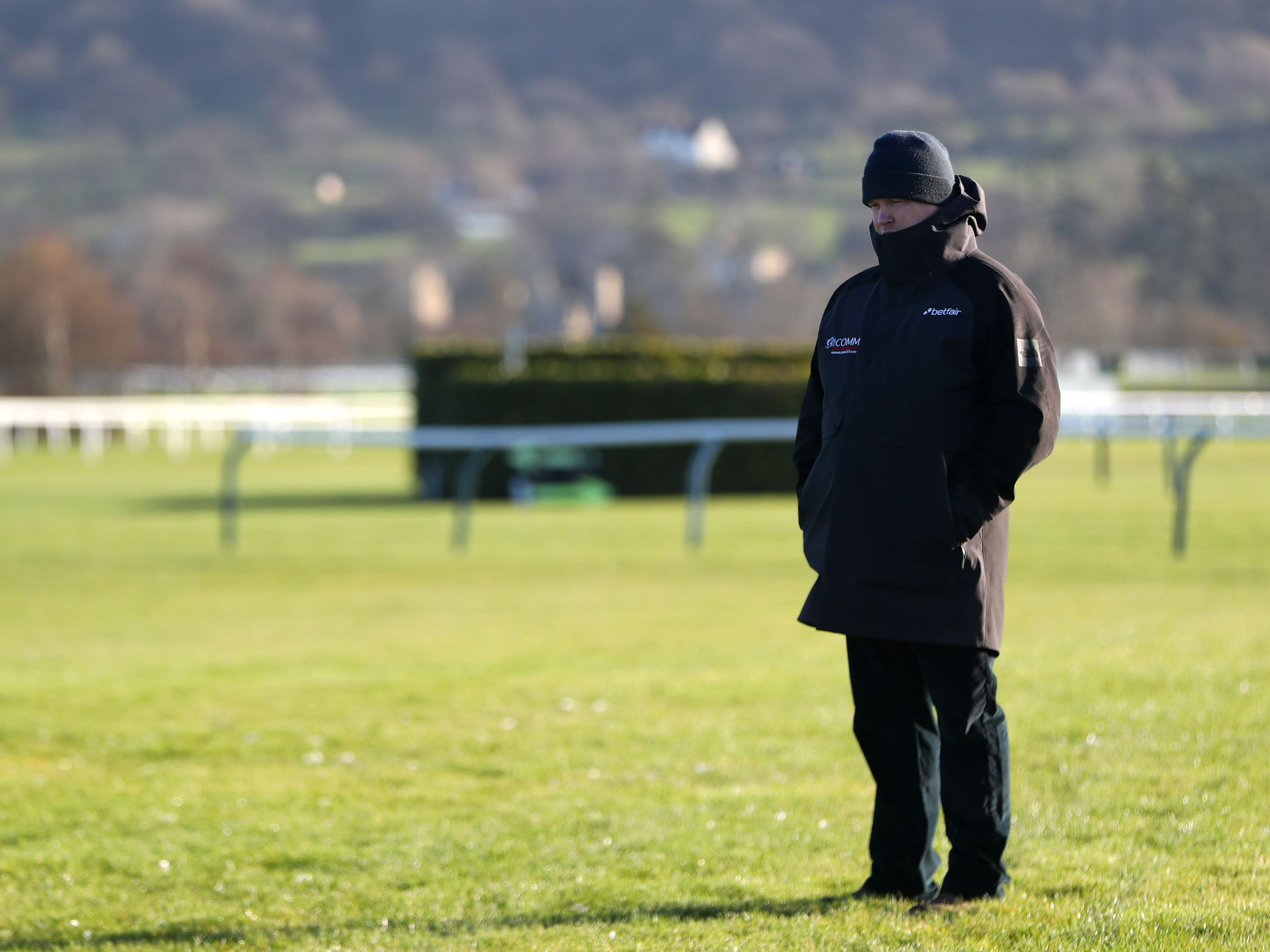 Britain's National Trainers Federation has reacted strongly to the image posted on social media of Gordon Elliott (Simon Cooper/PA)
