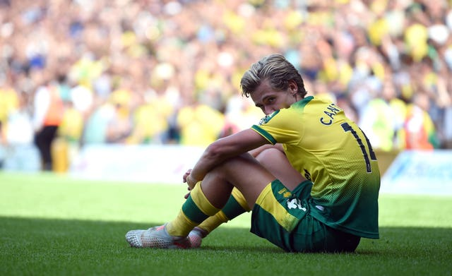 Todd Cantwell reflects on Norwich's defeat