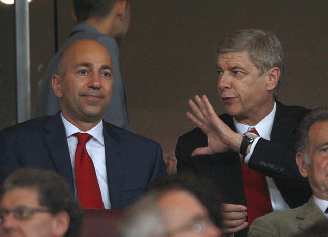 Gazidis was appointed as Arsenal's chief executive in 2009.
