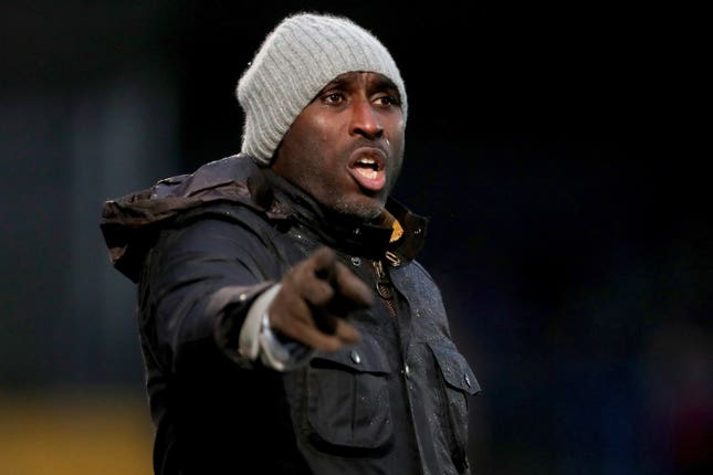 Sol Campbell kept Macclesfield up against the odds last season